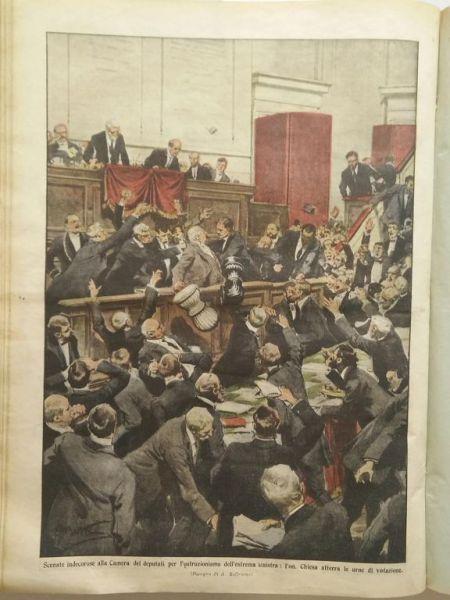 Le copertine della domenica 1914 gorizia e la grande for Deputati camera numero
